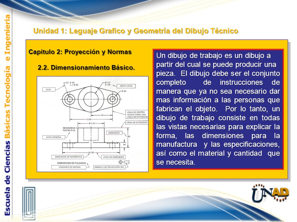 Unidad 1: Leguaje Grafico y Geometría del Dibujo Técnico