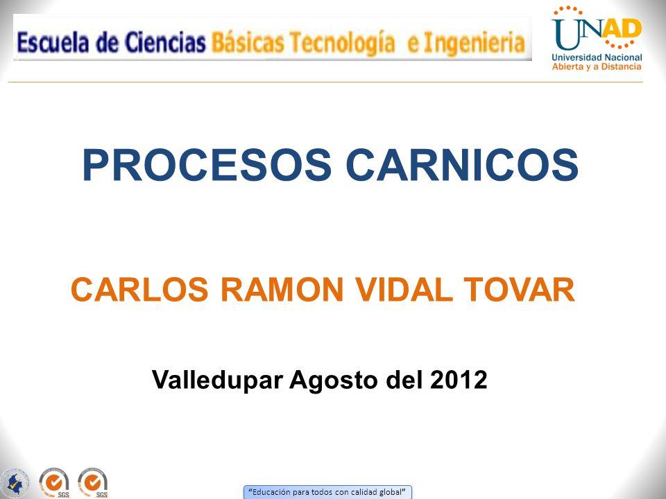 CARLOS RAMON VIDAL TOVAR