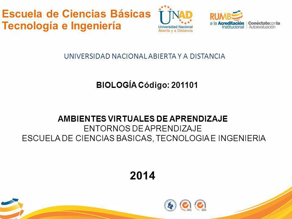 2014 Escuela de Ciencias Básicas Tecnología e Ingeniería