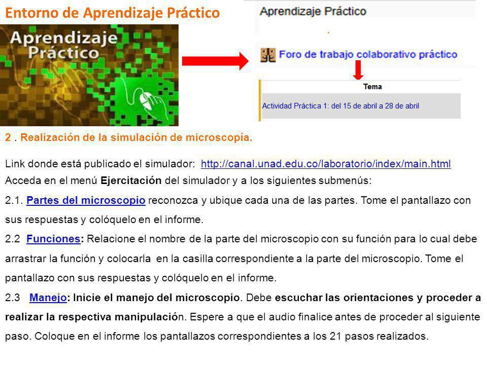 Entorno de Aprendizaje Práctico