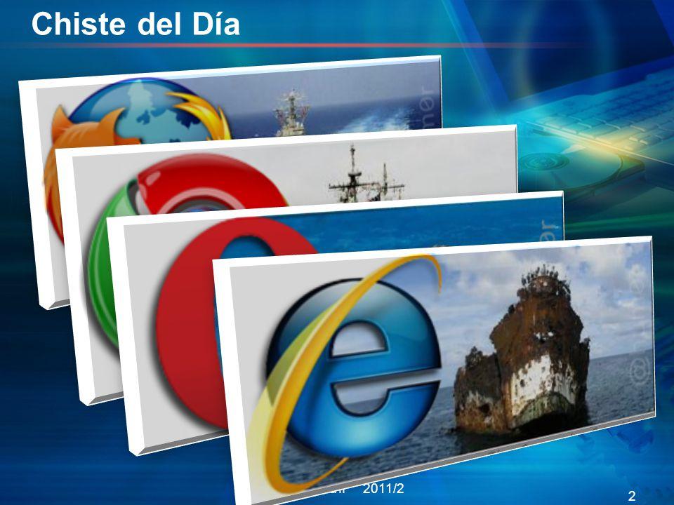 Chiste del Día Informática II 2011/2