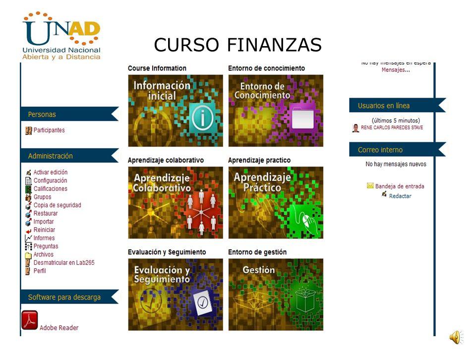 CURSO FINANZAS