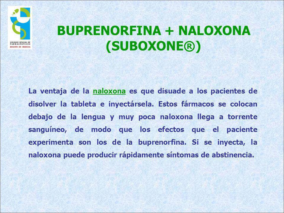 BUPRENORFINA + NALOXONA