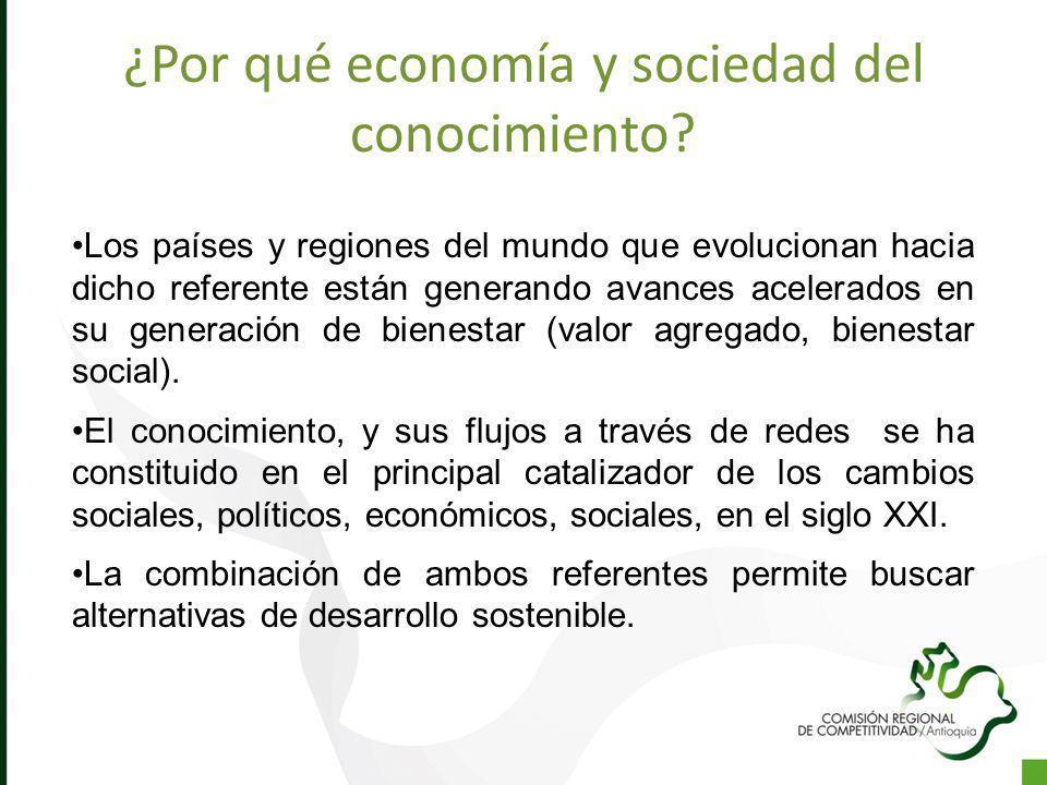 ¿Por qué economía y sociedad del conocimiento