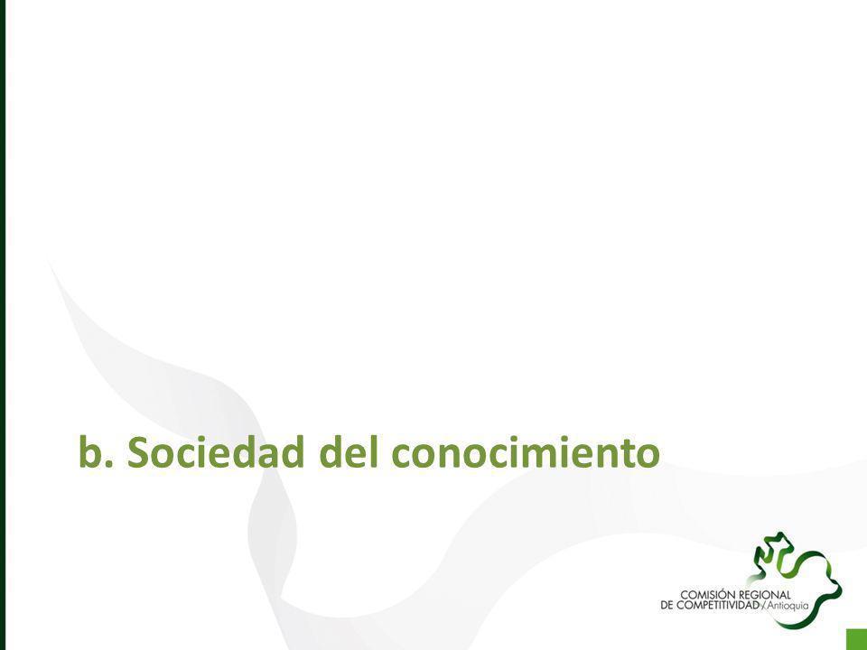 b. Sociedad del conocimiento