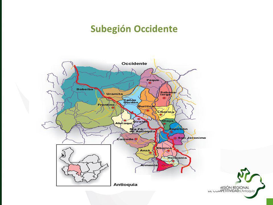 Subegión Occidente
