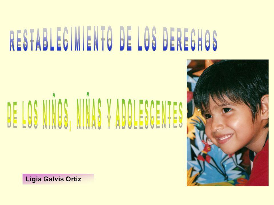 RESTABLECIMIENTO DE LOS DERECHOS DE LOS NIÑOS, NIÑAS Y ADOLESCENTES