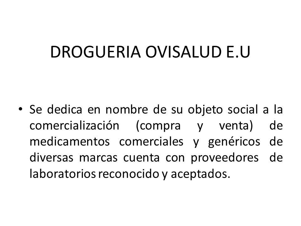 DROGUERIA OVISALUD E.U