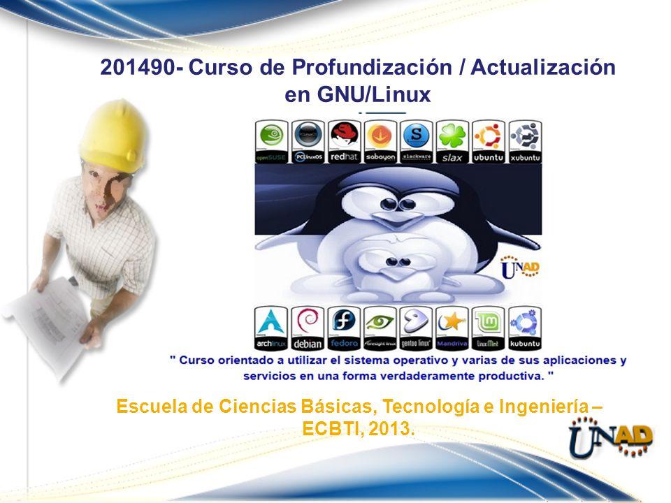 201490- Curso de Profundización / Actualización en GNU/Linux