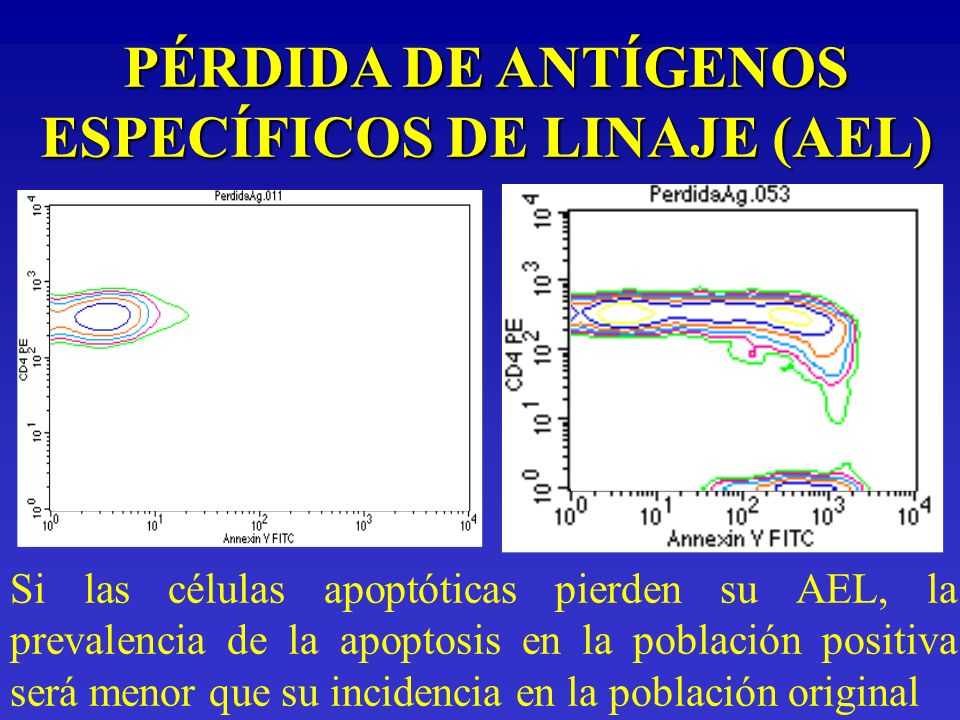 PÉRDIDA DE ANTÍGENOS ESPECÍFICOS DE LINAJE (AEL)