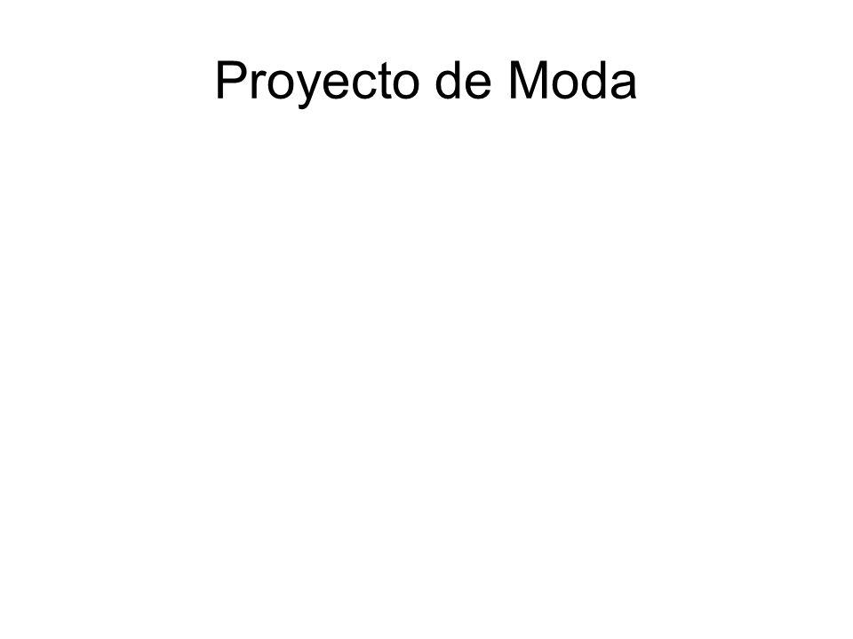 Proyecto de Moda