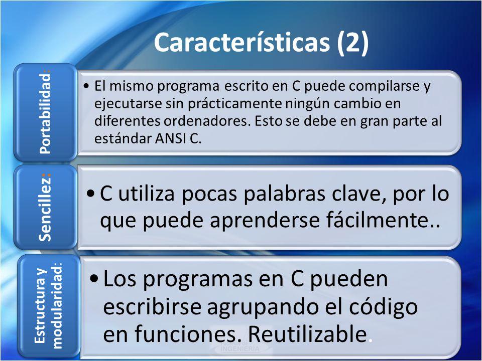 Estructura y modularidad:
