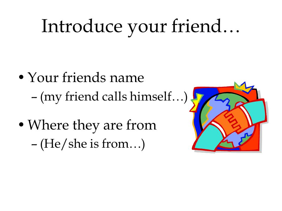Introduce your friend…