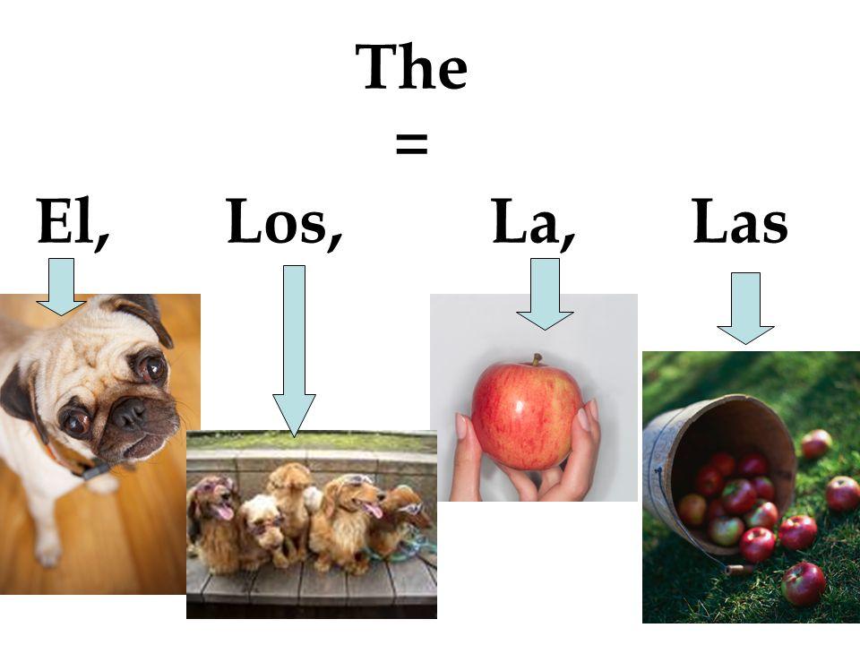 The = El, Los, La, Las