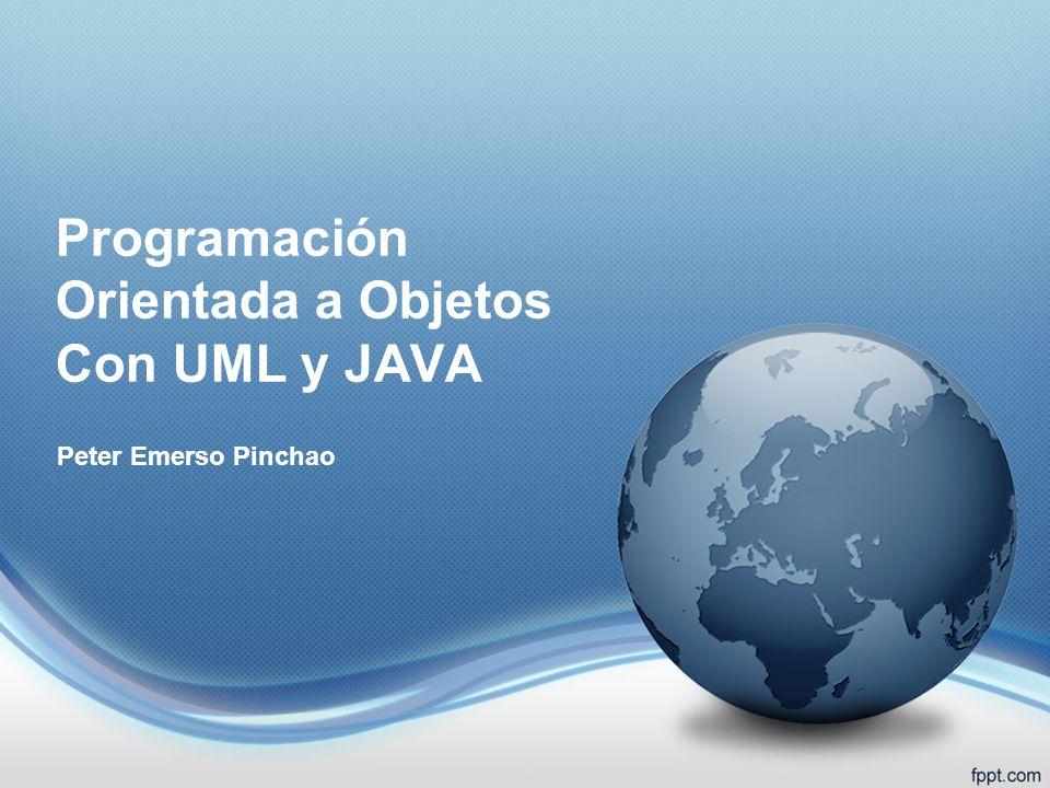 Programación Orientada a Objetos Con UML y JAVA