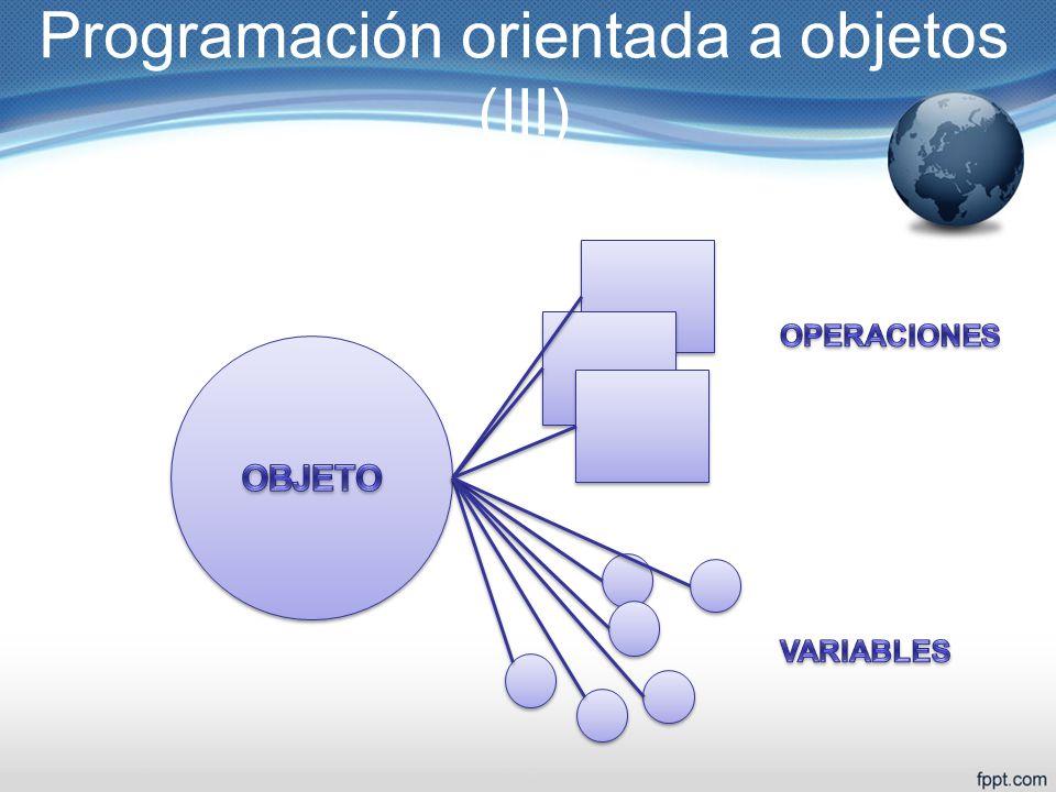Programación orientada a objetos (III)