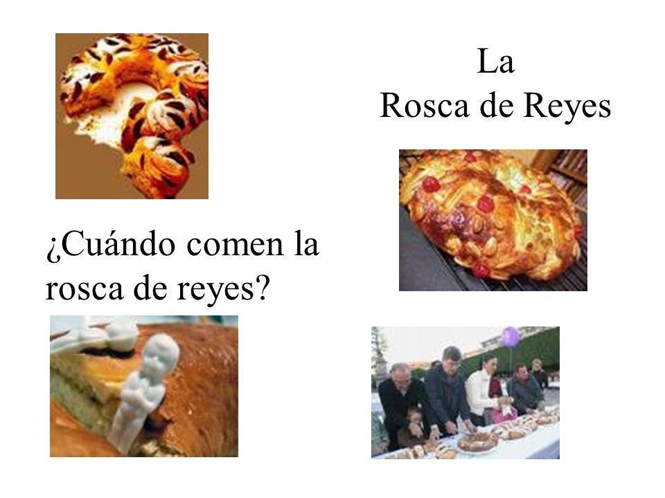 La Rosca de Reyes ¿Cuándo comen la rosca de reyes