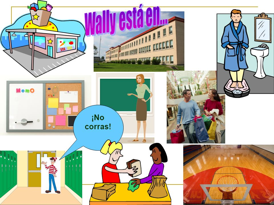 Wally está en... ¡No corras!
