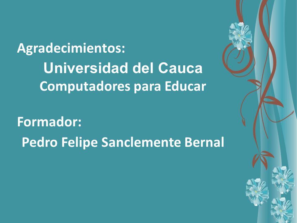 Computadores para Educar Pedro Felipe Sanclemente Bernal