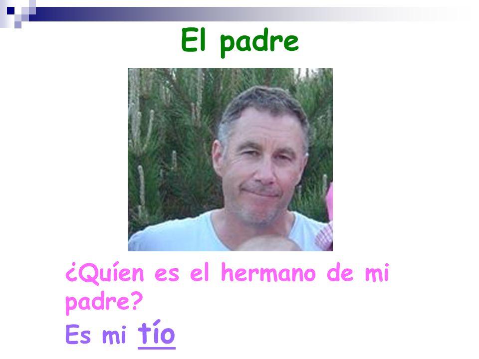 El padre ¿Quíen es el hermano de mi padre Es mi tío