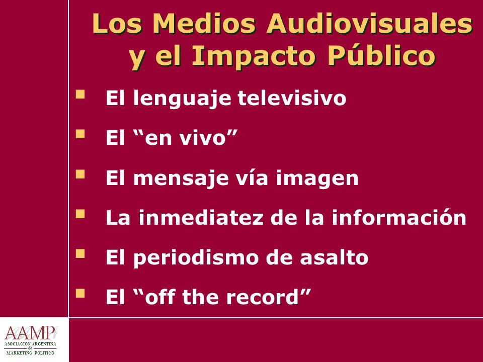 Los Medios Audiovisuales y el Impacto Público