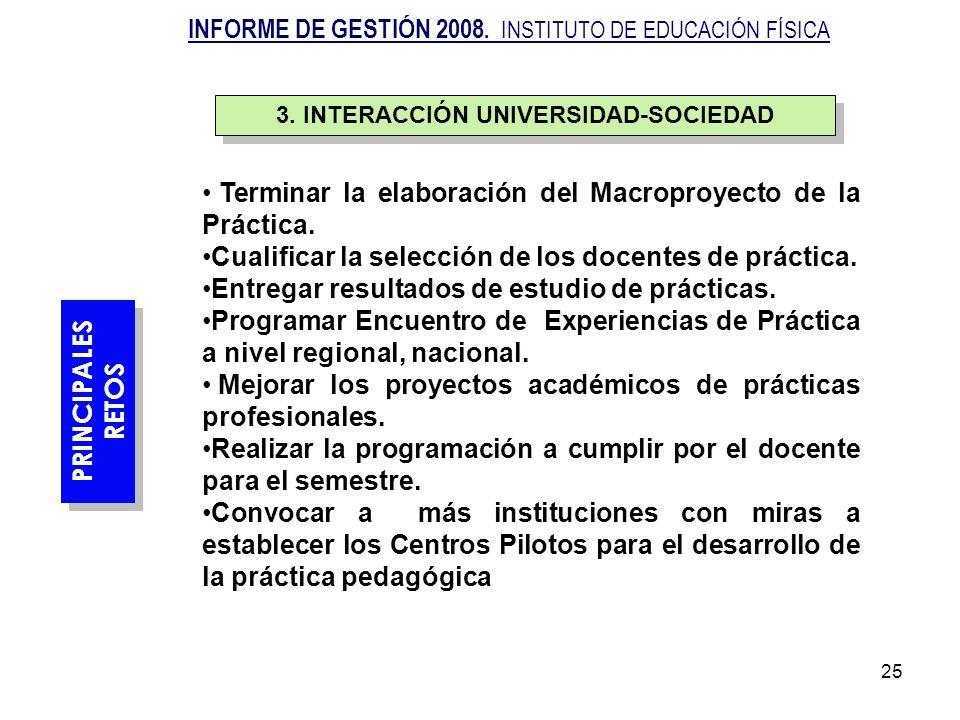 3. INTERACCIÓN UNIVERSIDAD-SOCIEDAD
