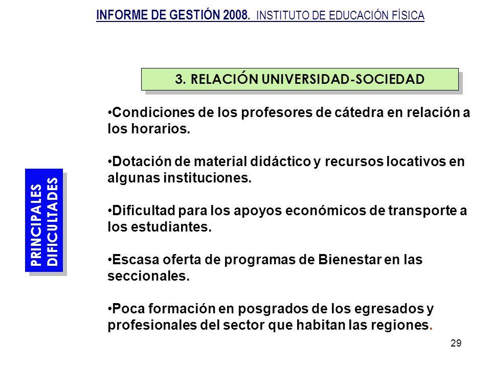 3. RELACIÓN UNIVERSIDAD-SOCIEDAD