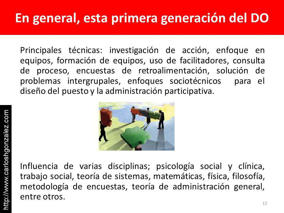 En general, esta primera generación del DO