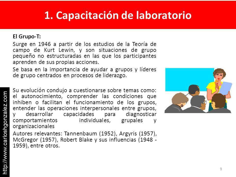 1. Capacitación de laboratorio