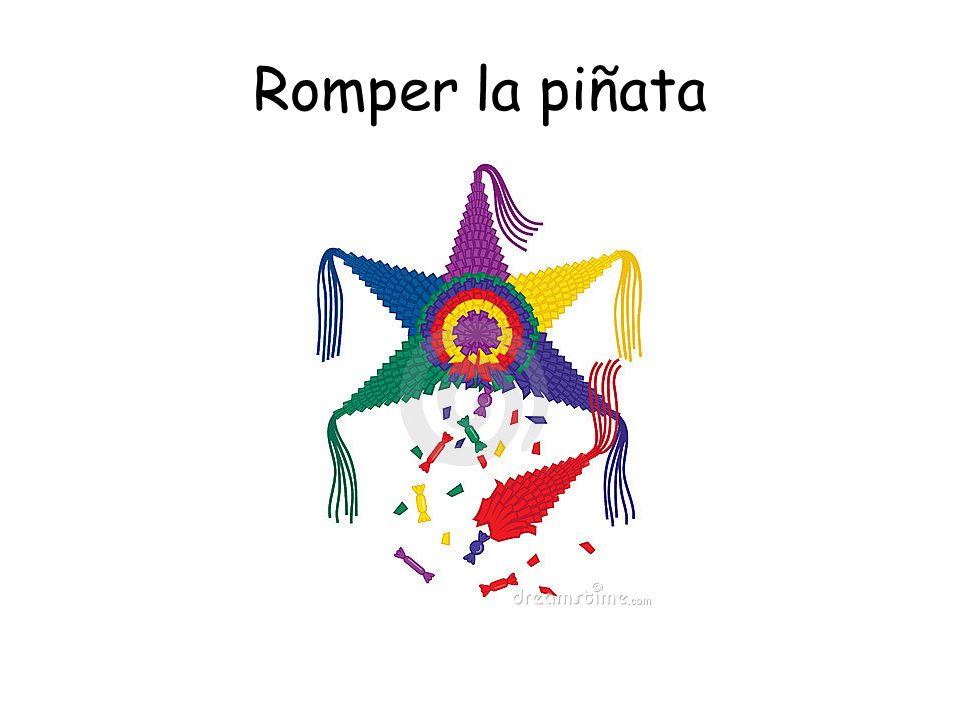 Romper la piñata