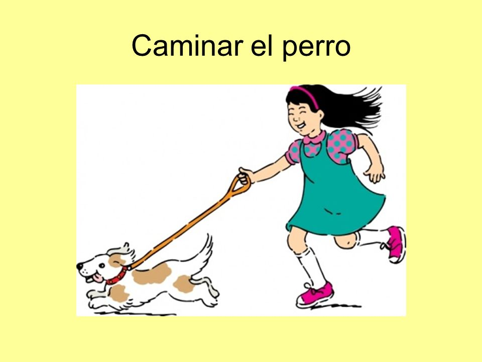 Caminar el perro