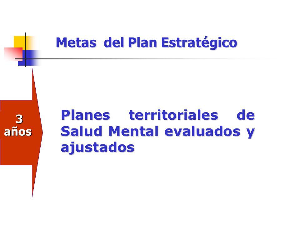 Metas del Plan Estratégico