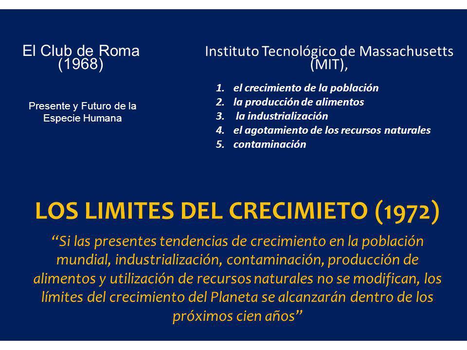 LOS LIMITES DEL CRECIMIETO (1972)