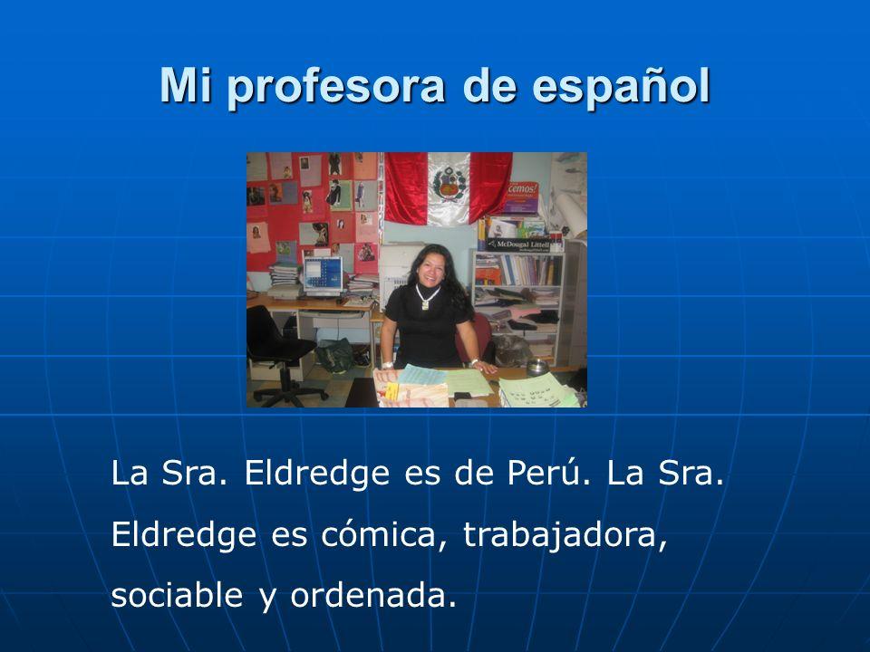 Mi profesora de español