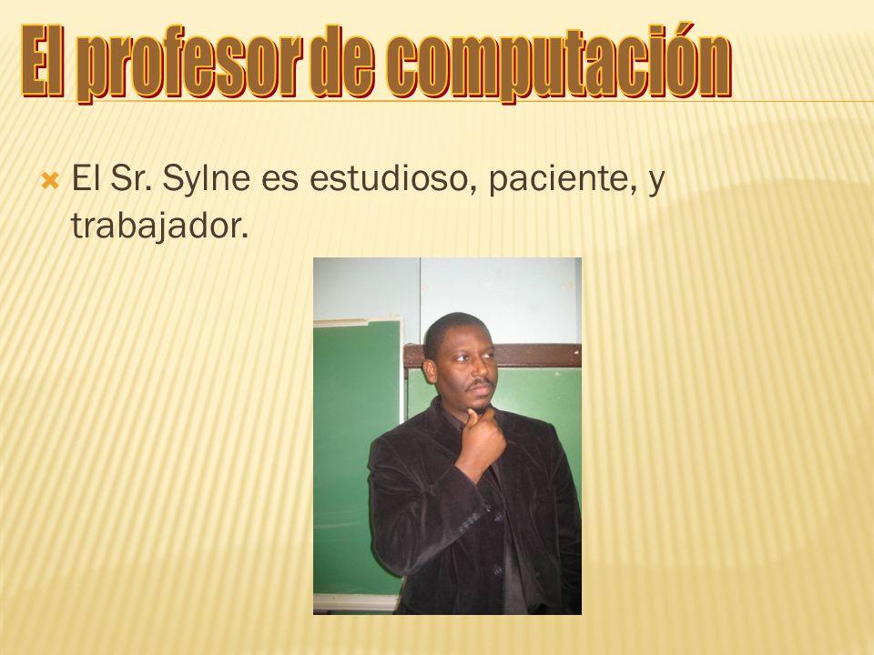 El profesor de computación