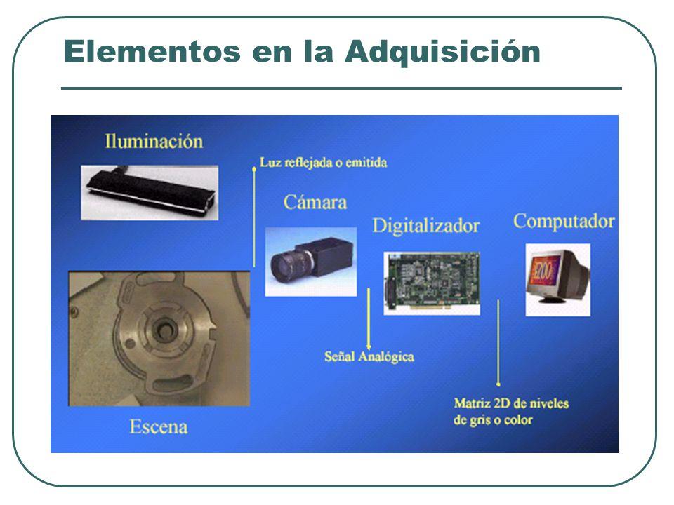 Elementos en la Adquisición