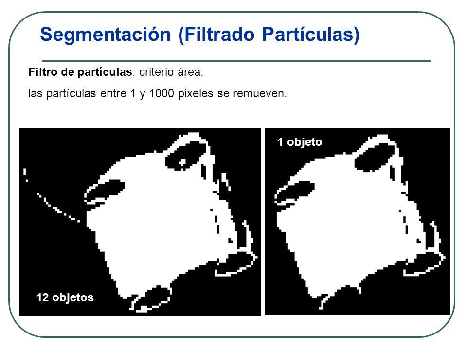 Segmentación (Filtrado Partículas)