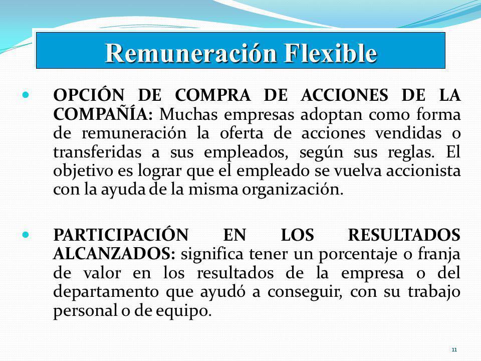 Remuneración Flexible