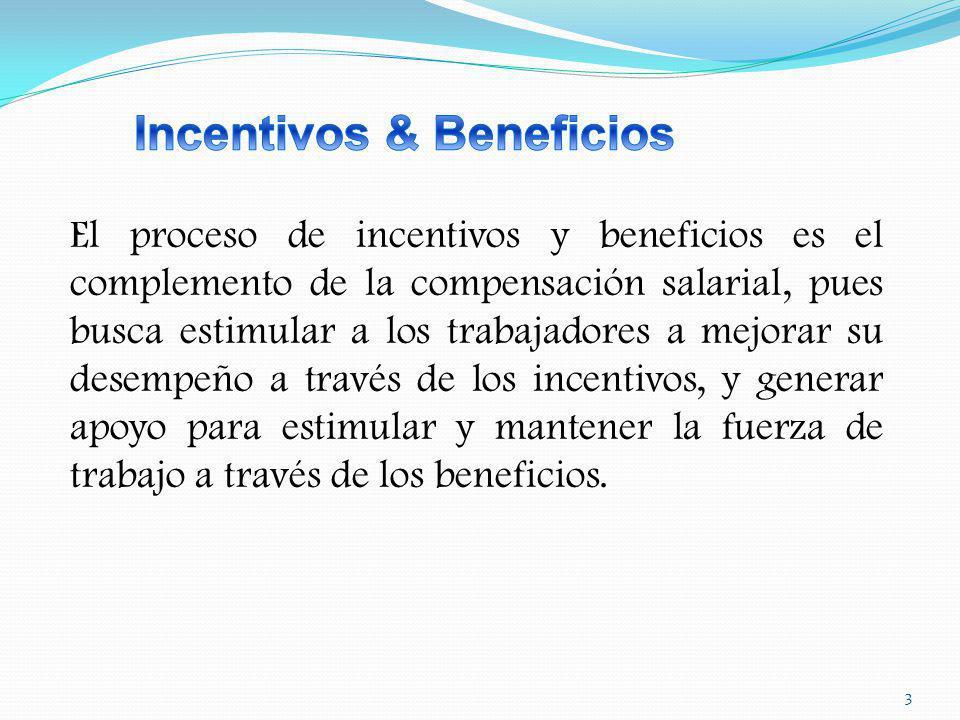 Incentivos & Beneficios