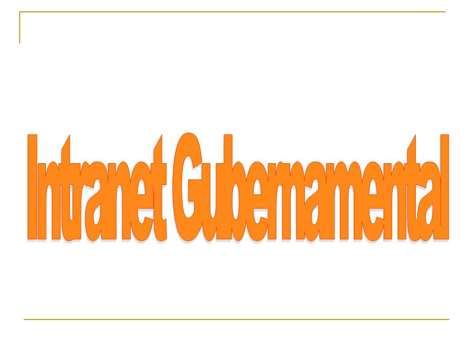 Intranet Gubernamental