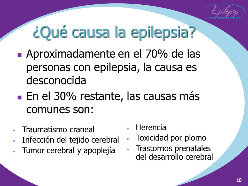 ¿Qué causa la epilepsia