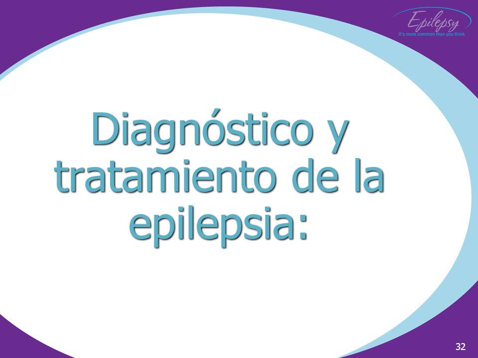 Diagnóstico y tratamiento de la epilepsia: