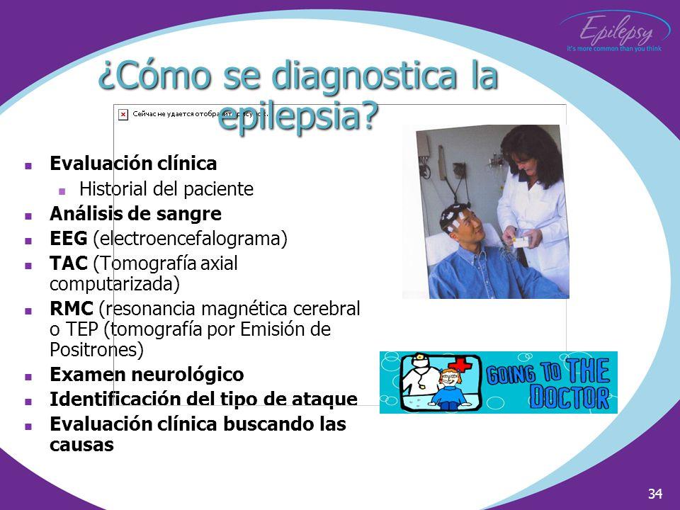¿Cómo se diagnostica la epilepsia