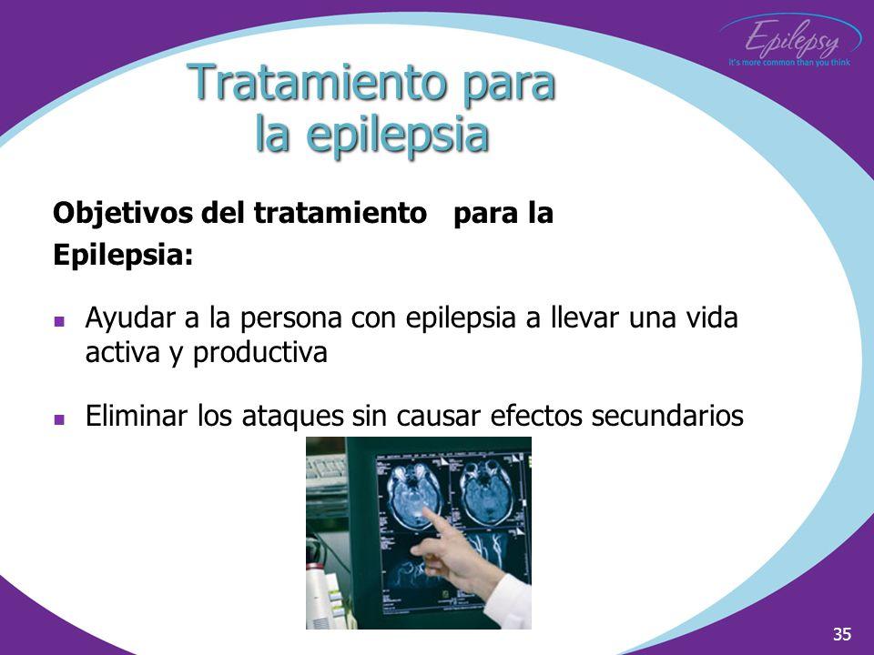Tratamiento para la epilepsia