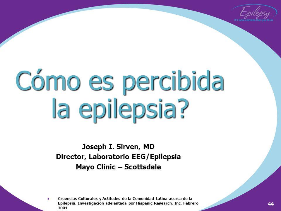 Cómo es percibida la epilepsia