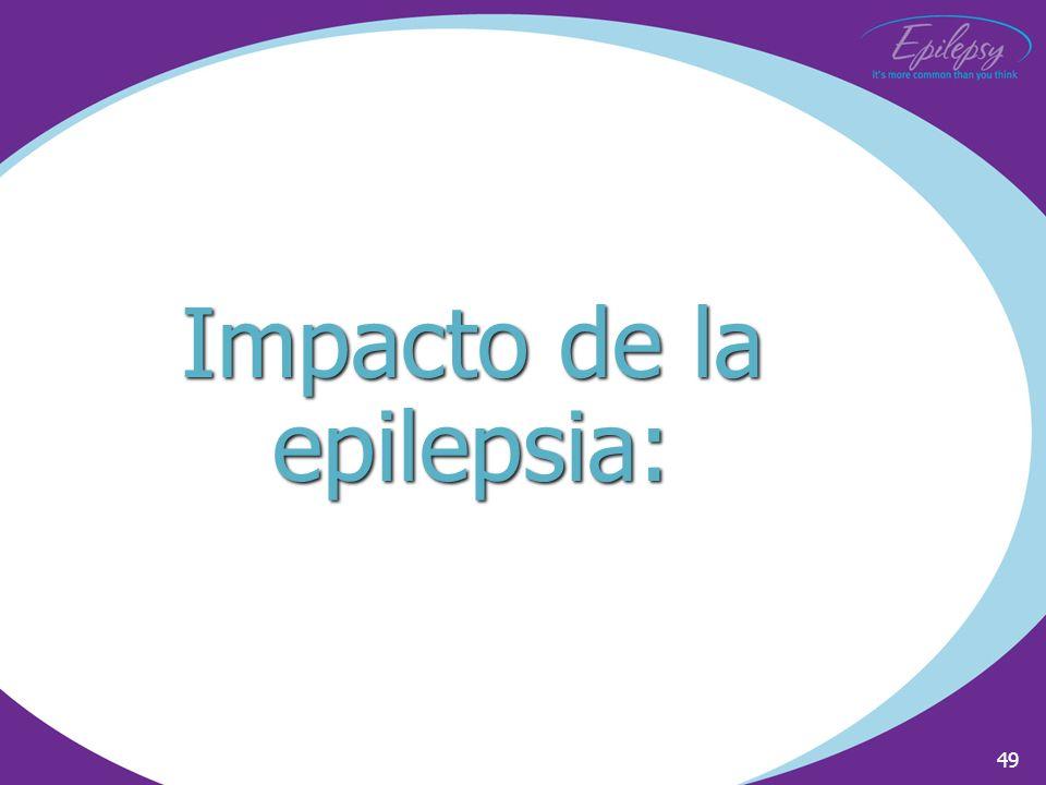 Impacto de la epilepsia: