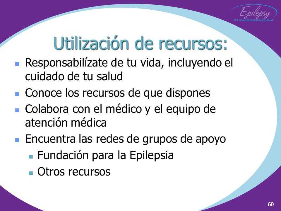 Utilización de recursos: