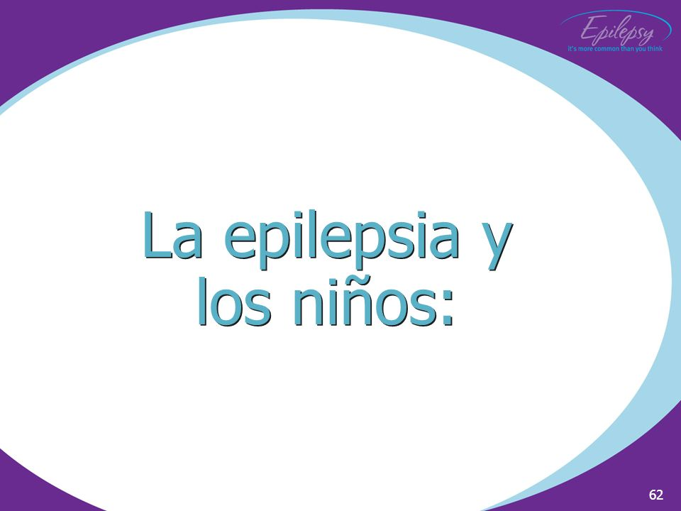 La epilepsia y los niños: