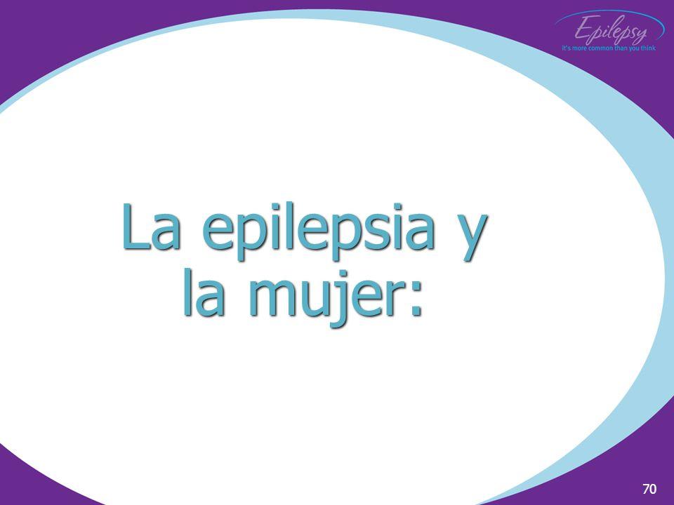 La epilepsia y la mujer: