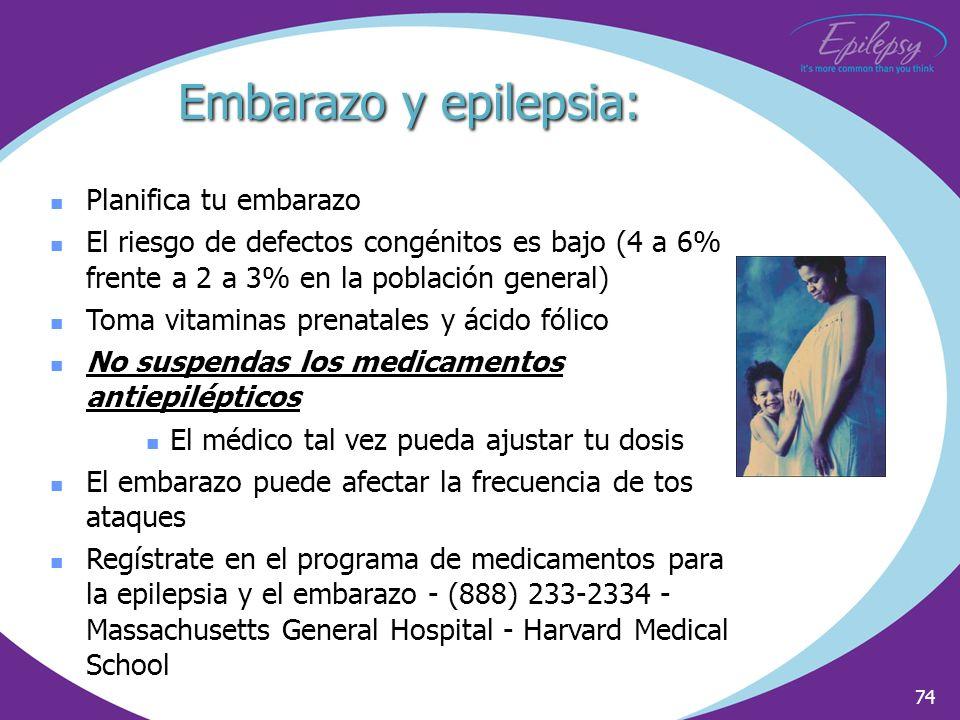 Embarazo y epilepsia: Planifica tu embarazo
